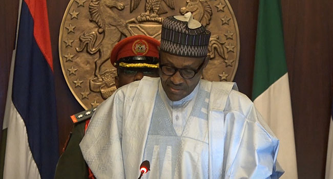 Avoid Actions That Emphasise The Country's Differences, Buhari Tells Nigerians