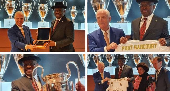 Rivers Govt, Real Madrid Sign Ratification Agreement