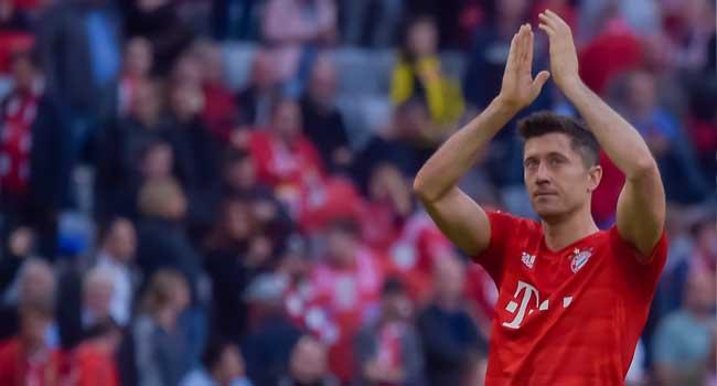 Bundesliga: Lewandowski Makes History, Scores In First Nine Games