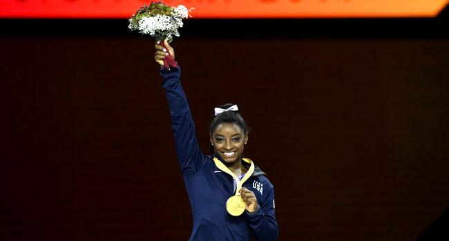 Simone Biles Extends Record To 25 World Gymnastics Medals