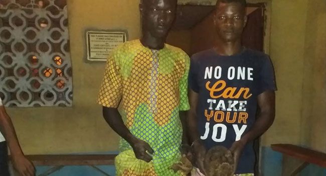 Two Arrested With Human Skull In Ogun