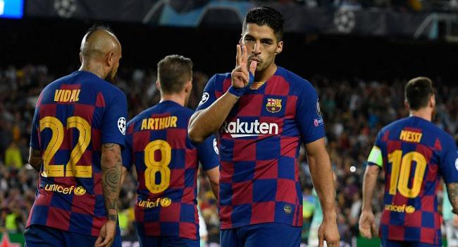 Suarez At The Double As Barcelona Break Down Impressive Inter