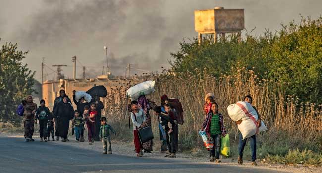 Turkey Begins Ground Offensive In Syria