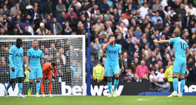 Tottenham Suffer Shock Defeat To Brighton