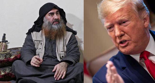 Baghdadi Died After Detonating Suicide Vest, Trump Confirms