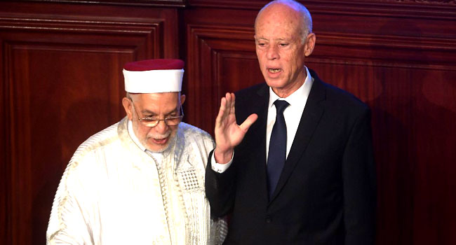 New Tunisia's President Takes Oath Of Office