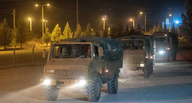 Turkey Deploys Troops To Syria Border After Operation Threat