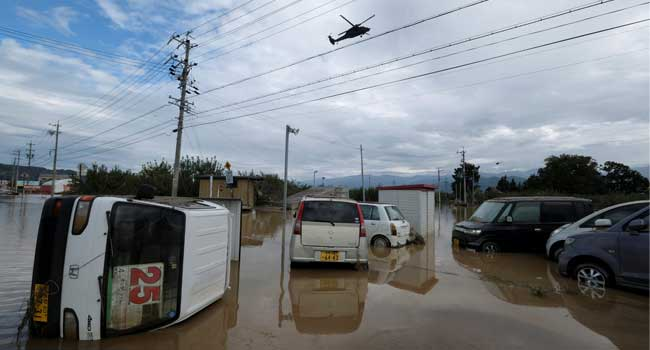 Typhoon: Japan Searches For Survivors As Death Toll Hits 56
