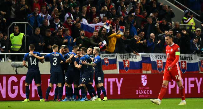 Moore Keeps Wales Euro Hopes Afloat In Slovakia Draw