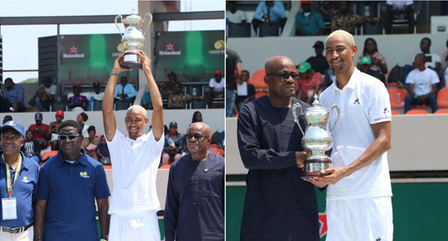 France-Born Nigerian Star, Hemery, Indian Lady Bhatia Win Lagos Open Tennis 2019 - CHANNELS TELEVISION