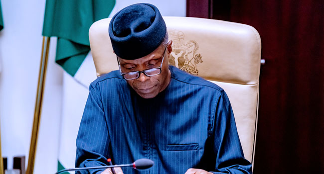 Osinbajo Chairs Economic Sustainability Committee Meeting