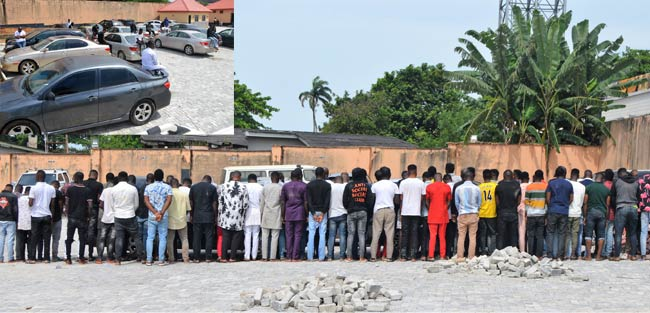 EFCC Raids Osogbo Nightclub, Arrests 94 Suspected Cyber Fraudsters