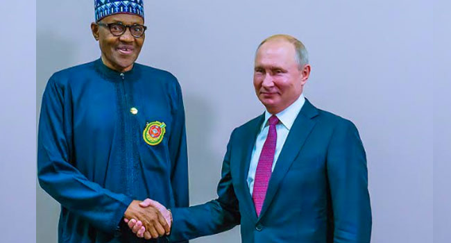Buhari, Putin Partner To Improve Nigeria's Oil Sector