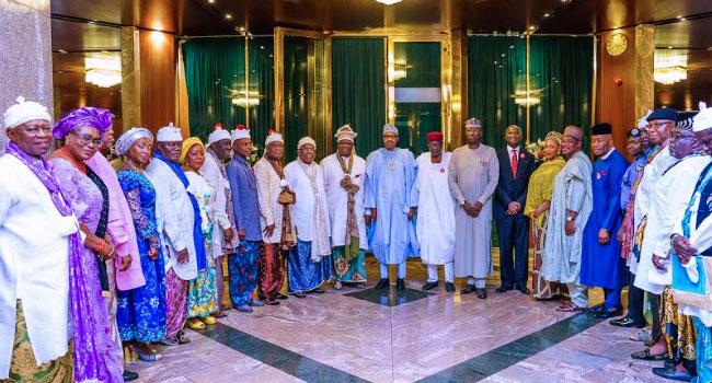 PHOTOS: Buhari Meets With Calabar Leaders