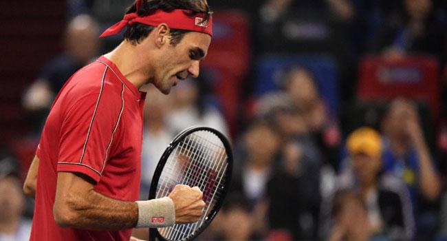 Federer Wins Shanghai Masters Opener