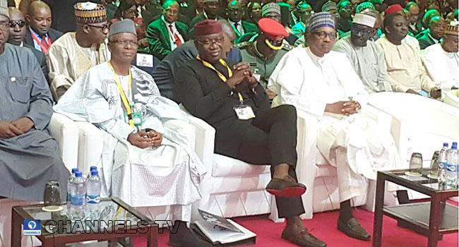 PHOTOS: Buhari, Fayemi, Others Attend 25th Nigerian Economic Summit