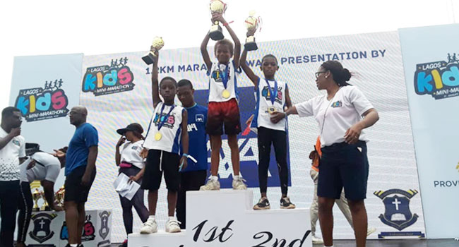 Winners Emerge From Lagos Kids Mini Marathon