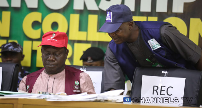 PHOTOS: Collation Of Kogi Governorship Election Results Enters Day Two