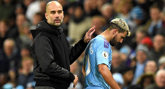 Injury Rules Aguero Out For 'A Few Weeks'