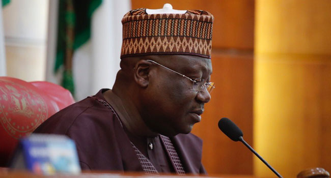 Corruption: Lawan Seeks UN's Assistance On Repatriation Of Looted Funds