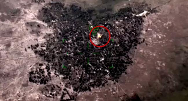 NAF Kills ISWAP Leaders, Destroys Meeting Venue In Borno