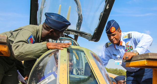 Air Chief Pleased With Maintenance Progress On Alpha Jets In NAF Base