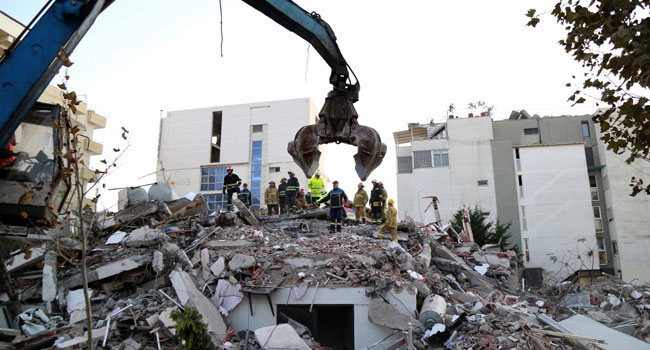 Over 20 Dead As Albania Hunts For Earthquake Survivors