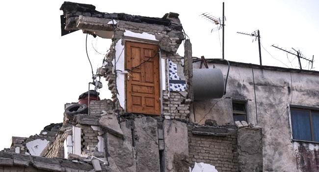Death Toll Hits 40 InAlbania Earthquake