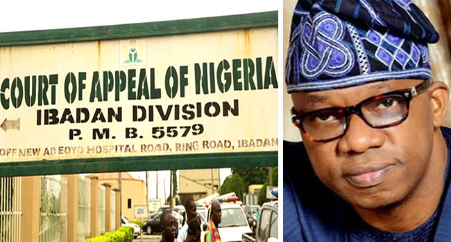 Ogun Election: Dapo Abiodun Wins In Appeal Court