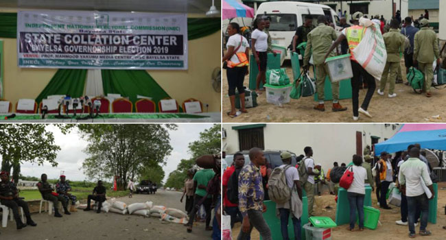 PHOTOS: INEC Yet To Commence Collation Of Results In Bayelsa