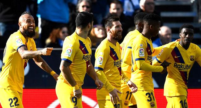 Vidal Grabs Late Winner For Barcelona At Leganes