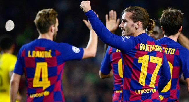 Barcelona Secure Champions League Last 16 Spot