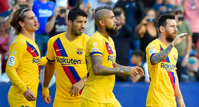 Barcelona Slip To Shock Defeat After Levante Goal Flurry