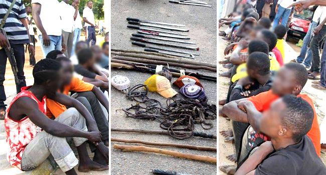 Police Arrest Two Wanted Suspects, 70 Others In Bauchi - Channels Television