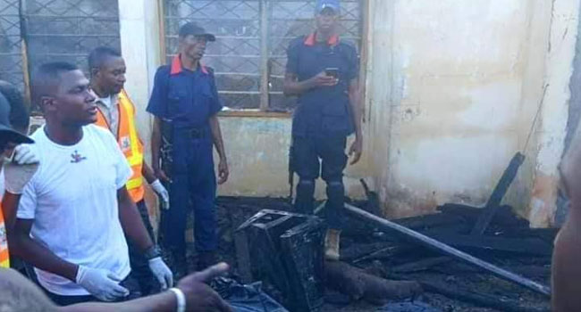 Perm Sec, Wife, Two Children Killed In Benue Fire - Channels Television