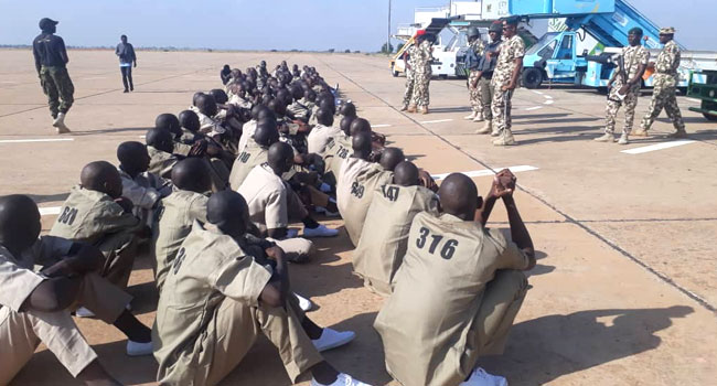 Over 500 Boko Haram Fighters Surrender