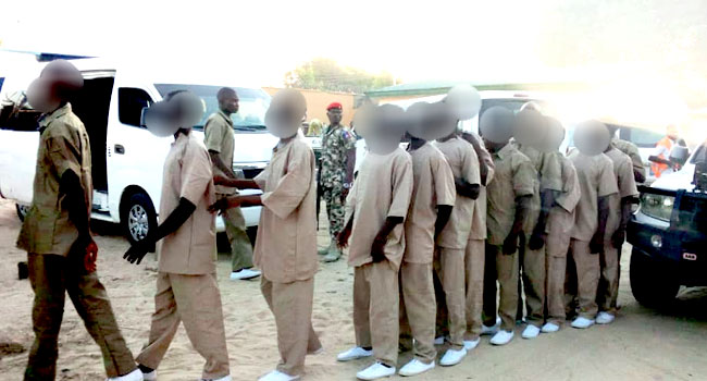Military Hands Over 86 Boko Haram Child Fighters To Borno Govt