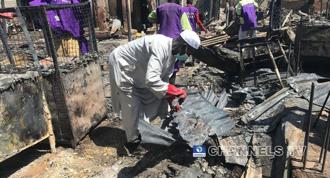 Shops, Property Destroyed As Fire Guts Market In Maiduguri