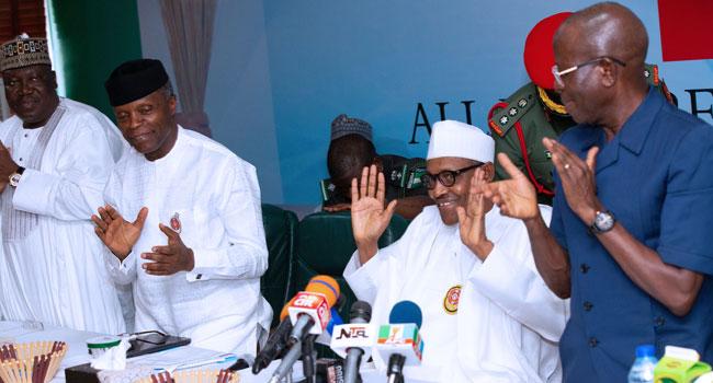 Buhari To Constitute National Reconciliation Committee, Says APC NEC