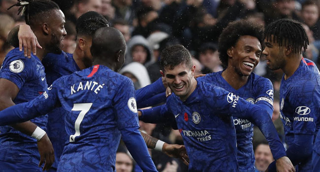 Sixth Win On The Spin Lifts Chelsea To Second In Premier League