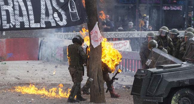 Chile Suspends Bolivia Friendly Amid Violent Social Unrest