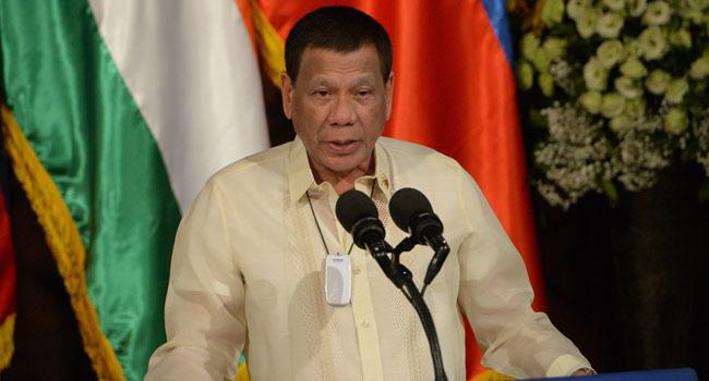 Philippine's President Duterte Admits To Declining Health