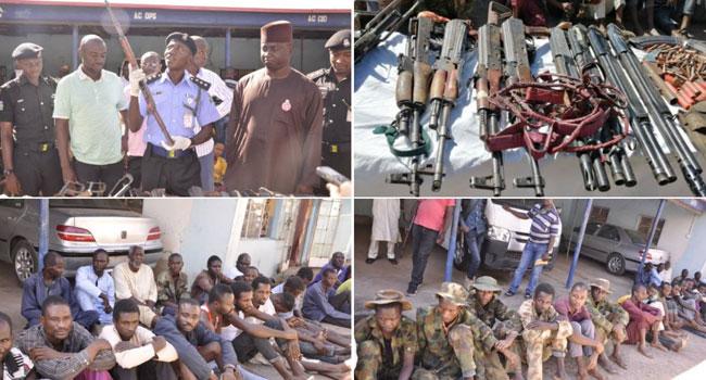 Police Arrest 39 Suspected Kidnappers, Other Criminals In Kaduna