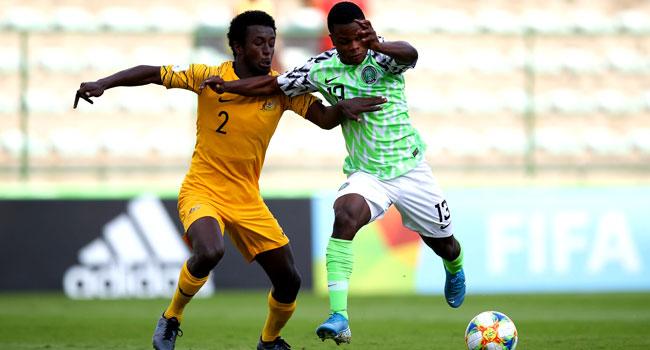 Image result for FIFA U17: Nigeria lose 2-1 to Australia, finish top of group