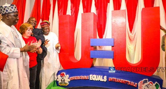 PHOTOS: Nigeria, US Govt Launch Special Campaign On Eliminating HIV/AIDS