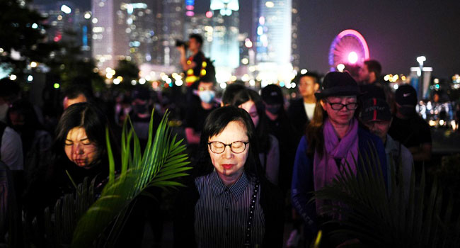 Huge Hong Kong Rally After Student Dies And Lawmakers Arrested