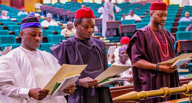Gbajabiamila Swears In Three Rep Members