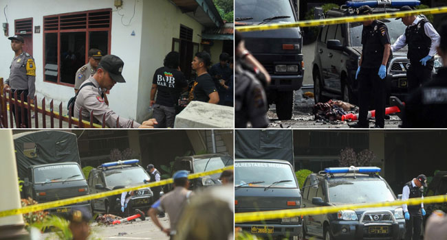 One Dead, Six Injured In Suicide Bombing At Indonesian Police Station