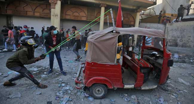 Six Dead In Blasts In Iraqi Capital Amid Deadly Protests