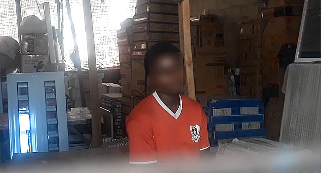 Police Arrest Woman For Locking Up Minor In Warehouse